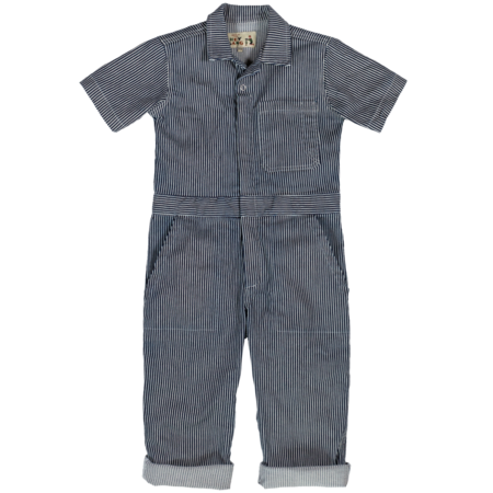 Kids Hey Gang Traditional Coverall - Hickory Stripe