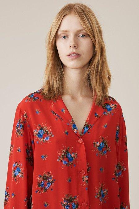 Ganni Kochhar Shirt - Fiery Red