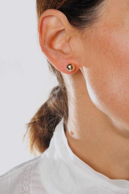 Gabriela Artigas 14K Asymmetric Orbit Earrings