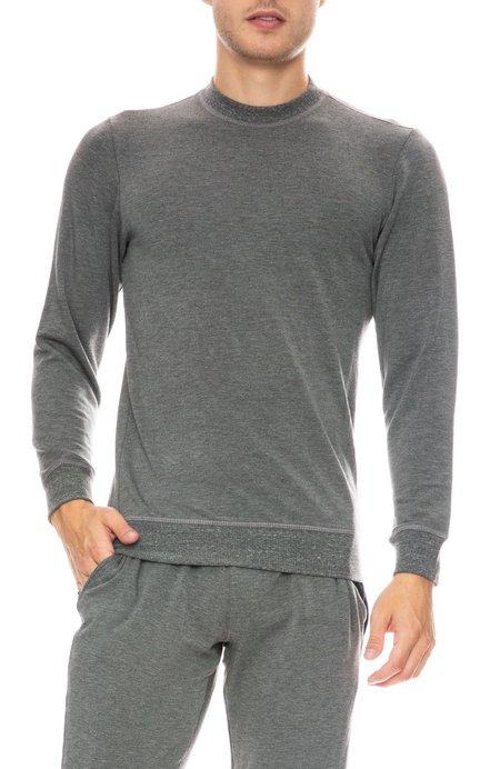 MITCHELL EVAN Crew Neck Sweatshirt - GREY