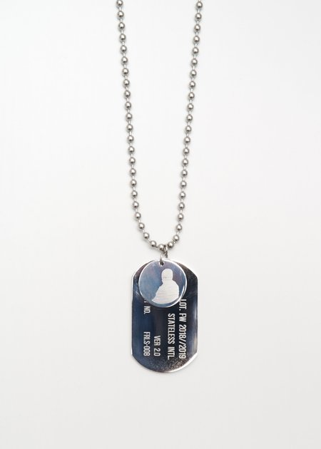 Hyein Seo Necklace - Silver-Plated Brass