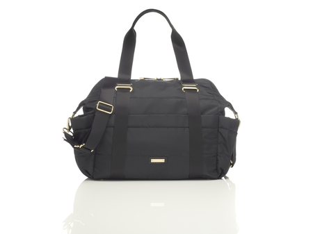 KIDS Storksak Sandy Diaper Bag - Black