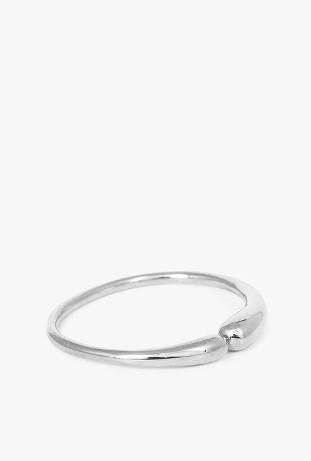 JACQUELINE ROSE Fluid Bangle - sterling silver