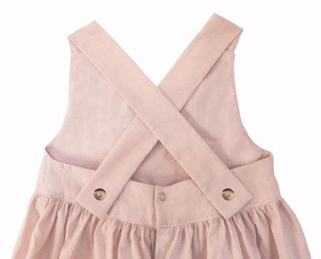 KIDS Petit Mioche peter pan collar romper - pink