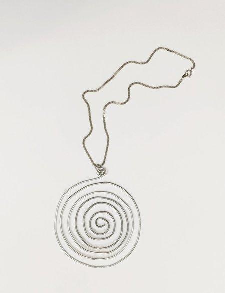 Laurs Kemp Spiral Choker - SILVER