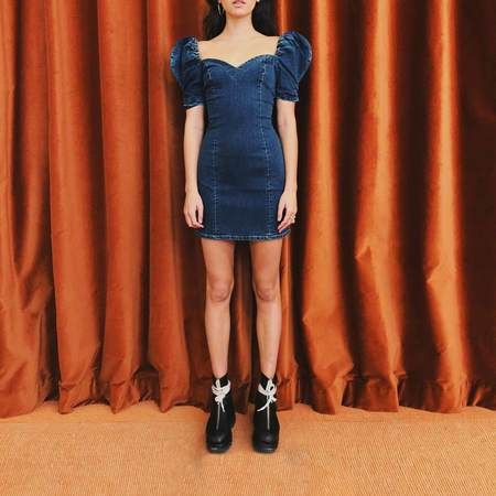 Adam Selman Carlotta Dress - Blue