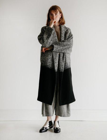 Dusan Oversized Coat - Ombre Herringbone