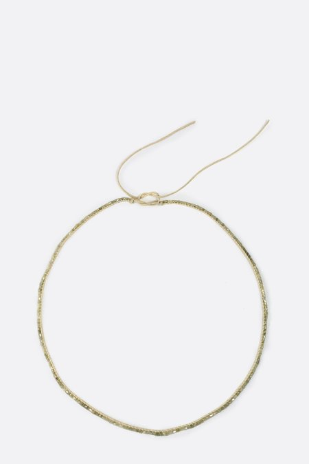 Orly Genger by Jaclyn Mayer Diamond Rose Necklace