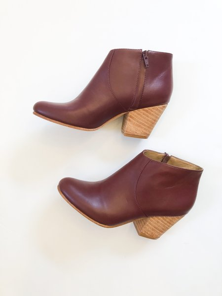 Fortress of Inca Adriana Coco Bootie - Burgundy