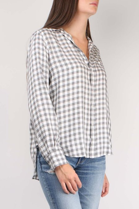 Frank & Eileen Eileen Long Sleeve Button Down - Grey Check