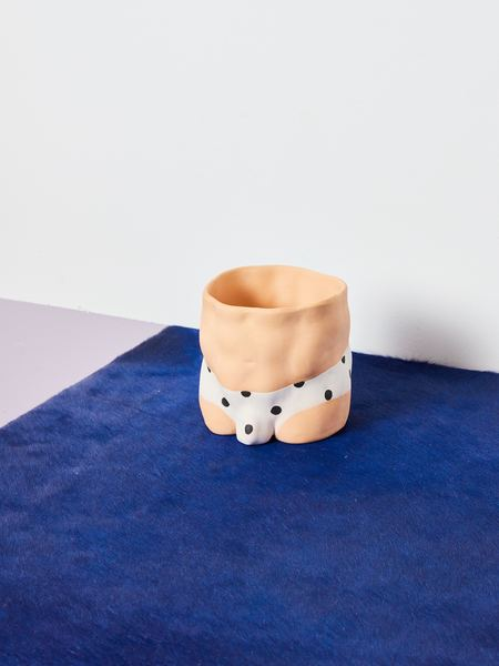 Group Partner Polka Dot Pot - Light Tan