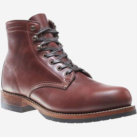 Wolverine 1000 Mile Evans Leather Boot - Dark Brown
