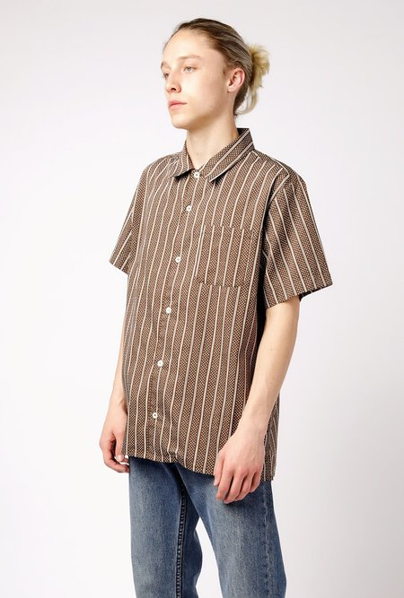 A.P.C. Chemisette Wonder Shirt - brown
