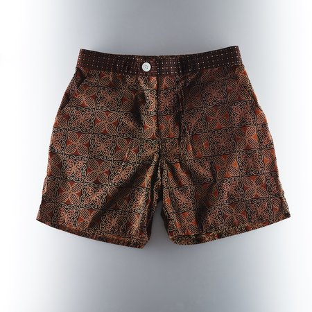 Footage Straits Shorts - Black/Brown