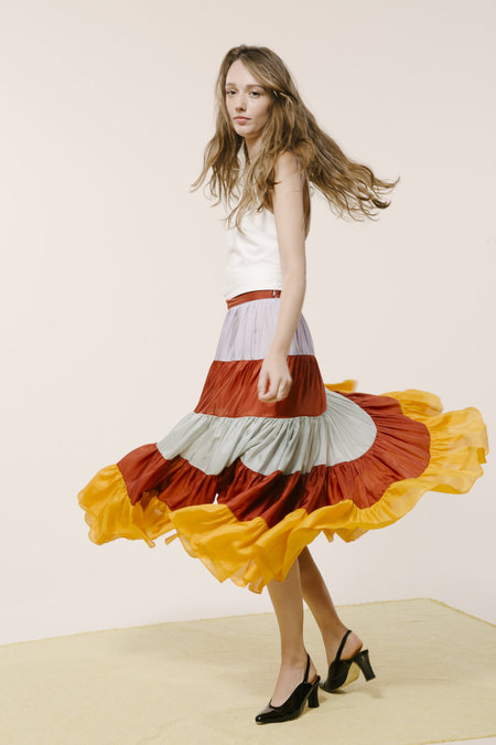 Carleen Claude Skirt - Multi