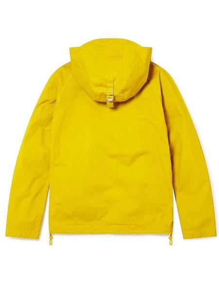 Albam Zipped Hooded Parka - Rich Yellow