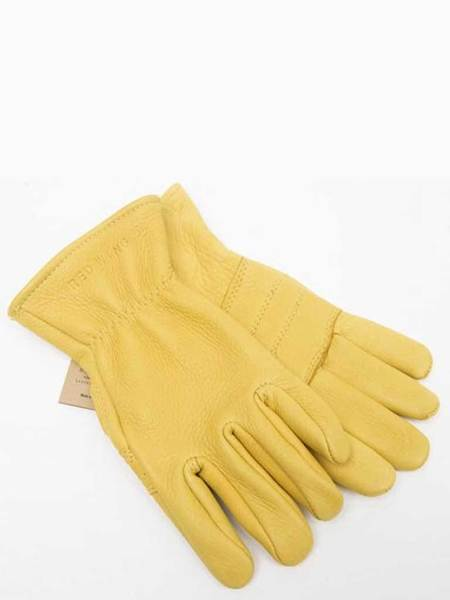 Redwing Lined Gloves - Yellow