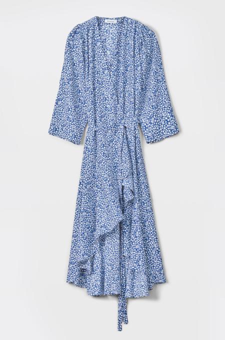 Rodebjer Miliana Dress - Deep Sea Blue