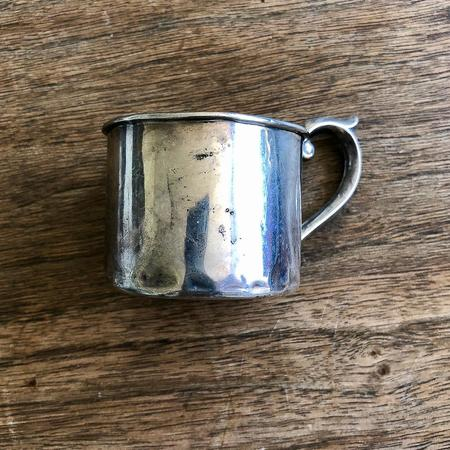 Vintage Erica Tanov Sterling Baby Cup