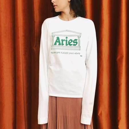 Aries Super Longsleeve Plastic Tee