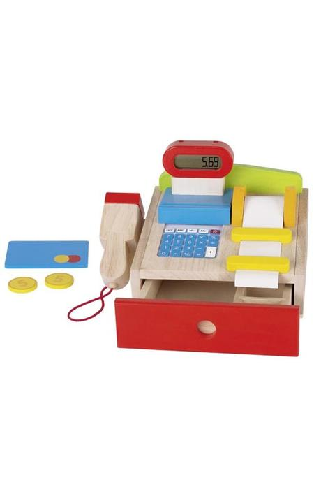 Kids Goki Wooden Cash Register
