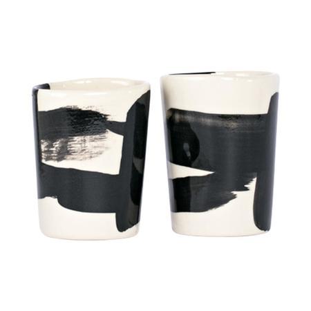 Kaz Morton Ceramics Peony Tumblers
