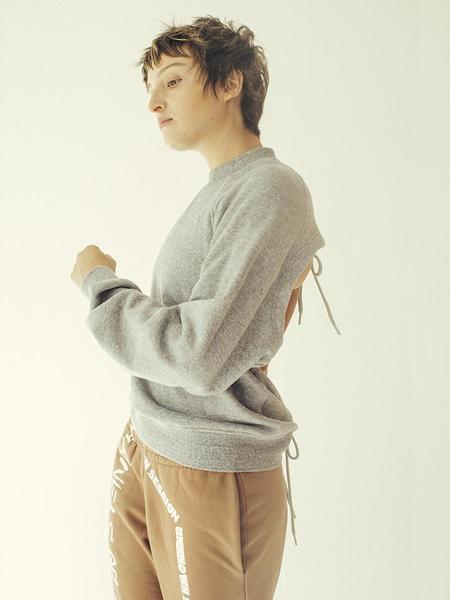 Sandy Liang 88 Sweatshirt - Grey