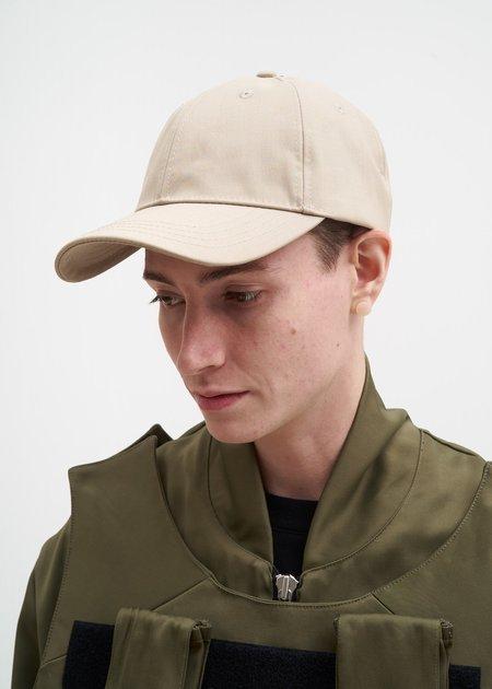 Matthew Miller Camel Vulcanized Cotton Cap