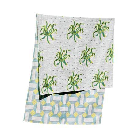 Agustina Studio Agustina Pietra Multipurpose Towel - Yellow Cactus