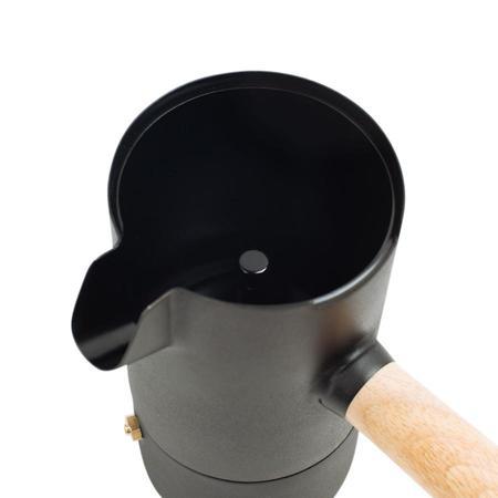 Stelton Collar Espresso Maker - MATTE BLACK