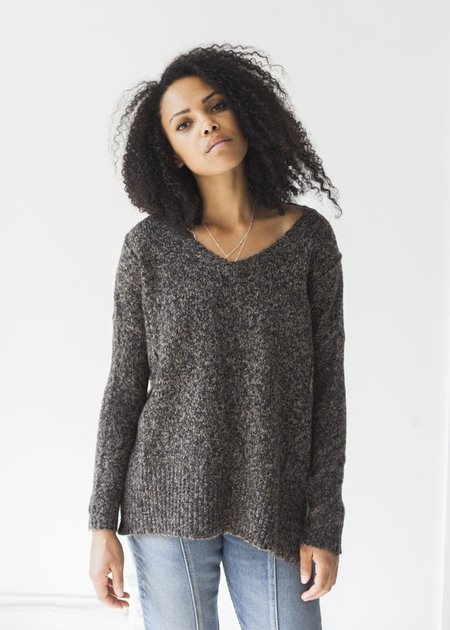 Line Knitwear Eve Sweater - Night Owl