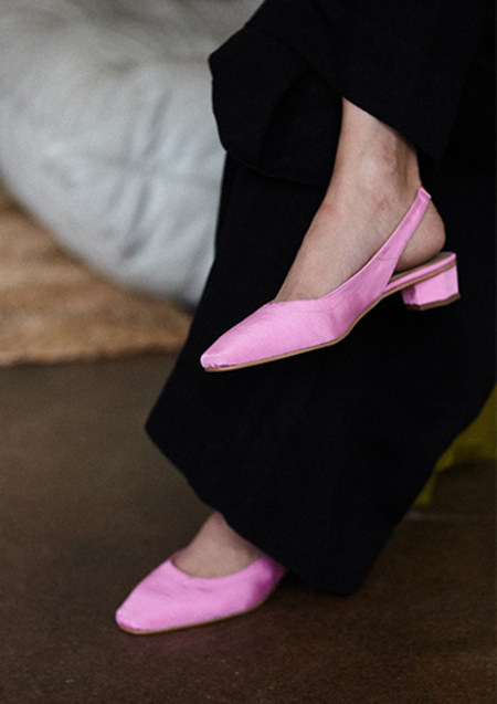 ABOUT ARIANNE GALO SANDAL - BLUSH