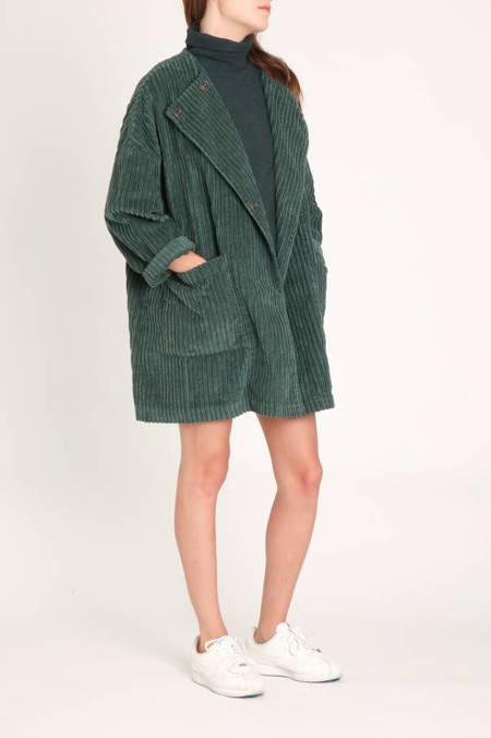 Local Tonia Velvet Jacket - olive