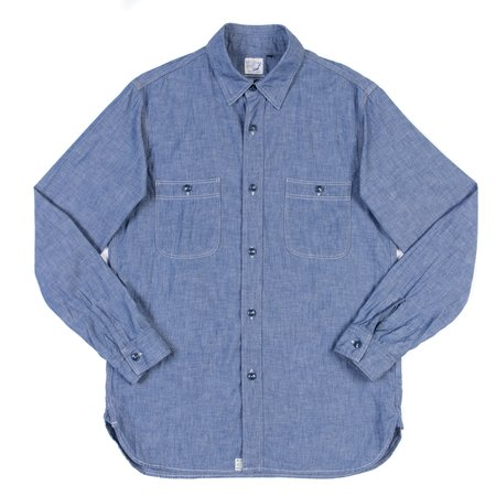 Orslow Work Shirt - Chambray
