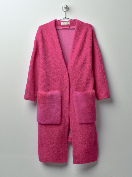 Anne Vest May Coat - Pink