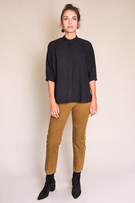 AG Jeans Rhett Crop Cord Jeans - 1 Year Sulfur Golden