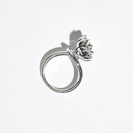 Pamela Love Small Anemone Ring - Sterling Silver