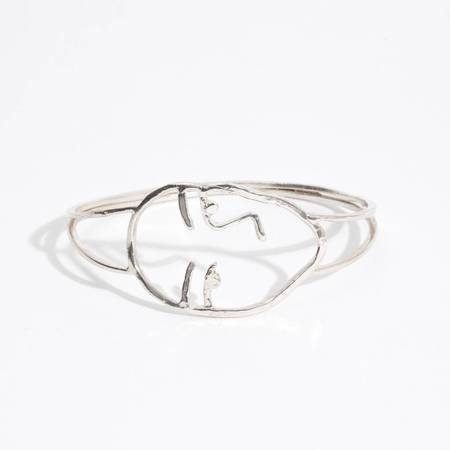 Open House Face Bracelet - Silver