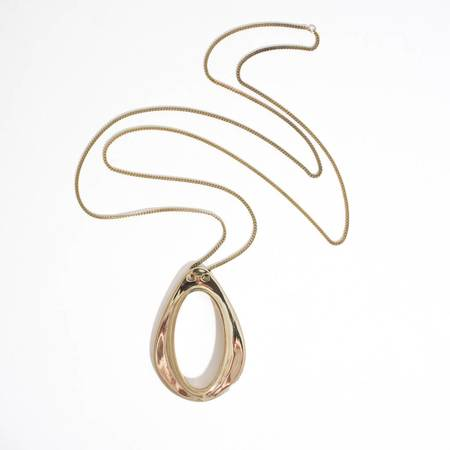 Aesa Light's Vortex Necklace - BRONZE