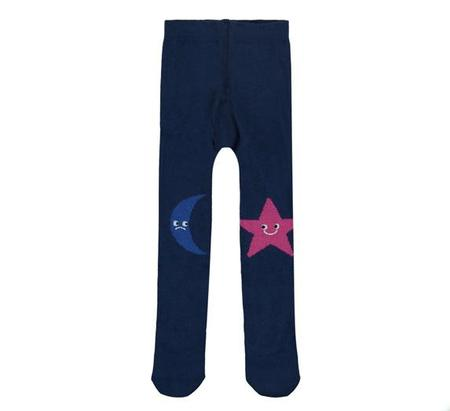 KIDS Stella McCartney Baby Sweetpea Tights - Navy Star
