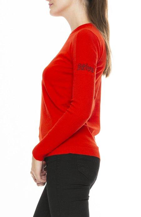 Bella Freud Speed Sweater - Red