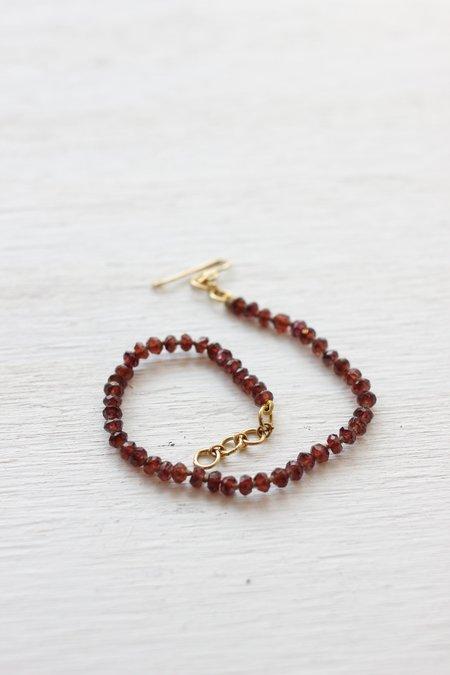Lena Skadegard Gemstone/Vermeil Bracelets