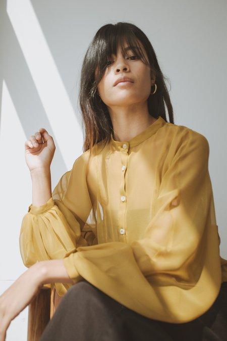 OR Blouson - Chartreuse Silk