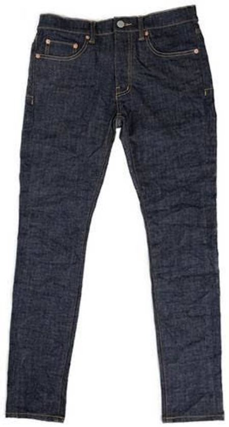 Purple Denim P001 - Raw Indigo