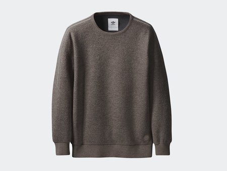 Wings + Horns x Adidas Originals Crewneck - Simple Brown