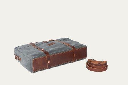 Bradley Mountain Courrier Briefcase - charcoal