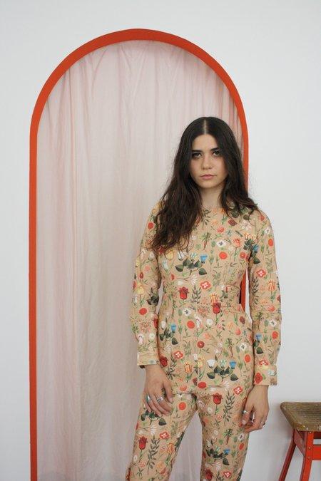 Samantha Pleet Empress Jumpsuit - Peach Blossom
