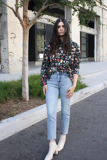 Samantha Pleet Mandrake Shirt - Black Blossom