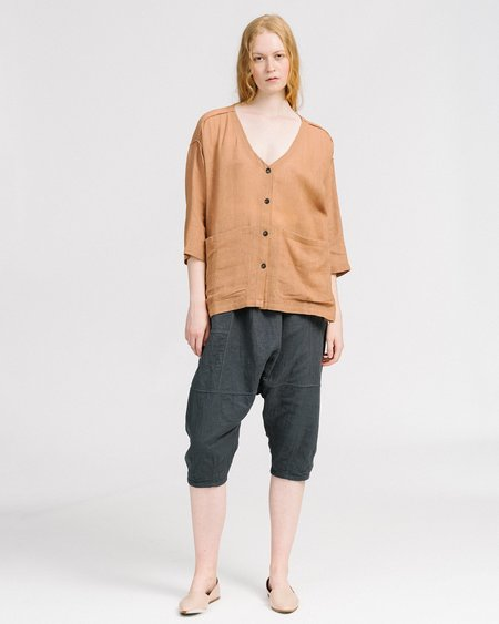 Revisited Matters Jute Workshirt - Clay