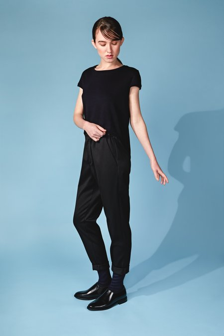 Studio Elsien Gringhuis Organic Wool Trousers - Black
